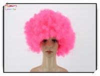 Coloring Synthetic Hair Football Fans Wig Extensions Sexy