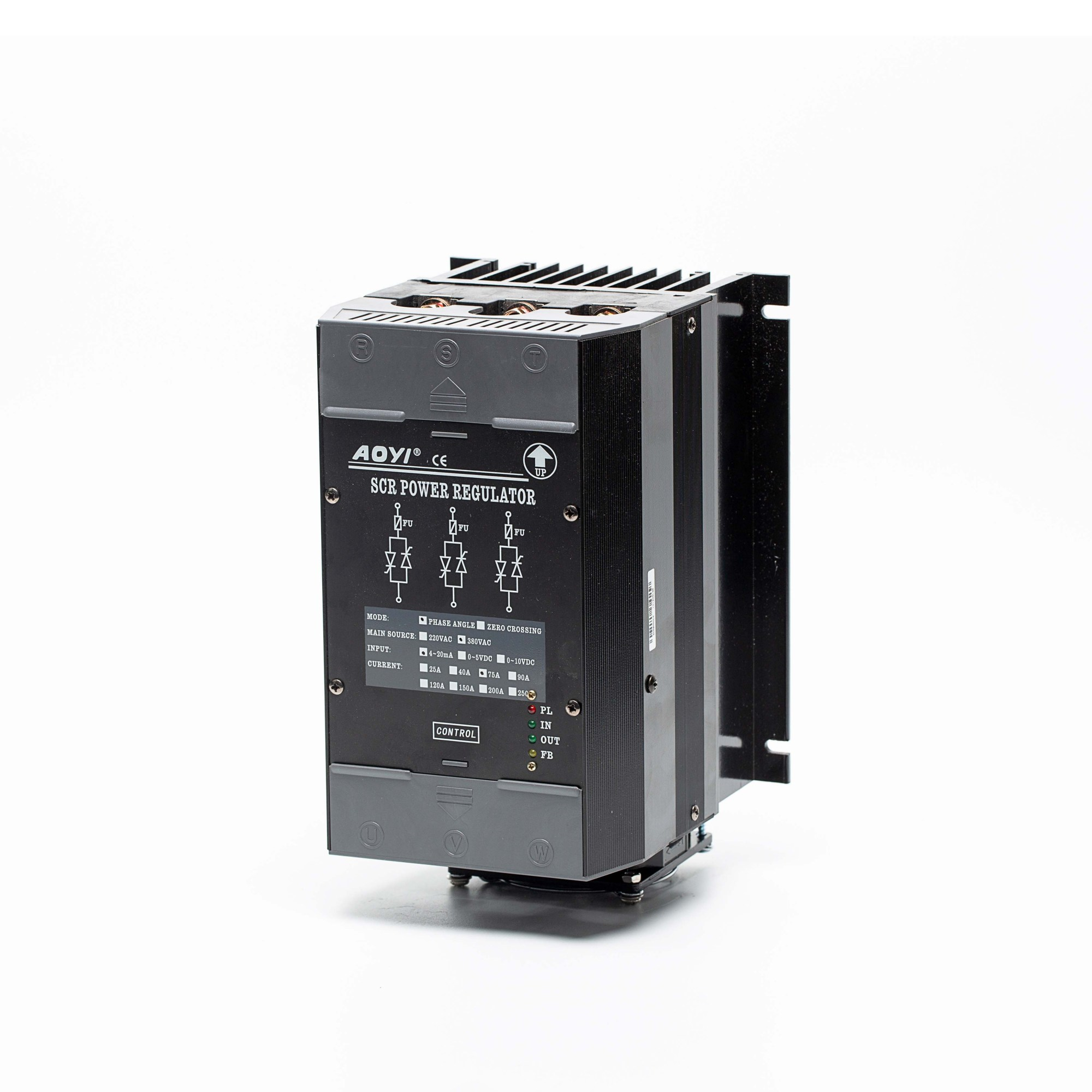 hight resolution of scr power controllers for electrical resistance heaters 40a 75a 90a