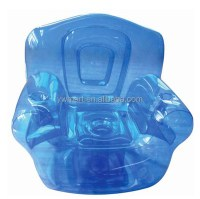 Plastic Transparent Inflatable Children Sofa Chair