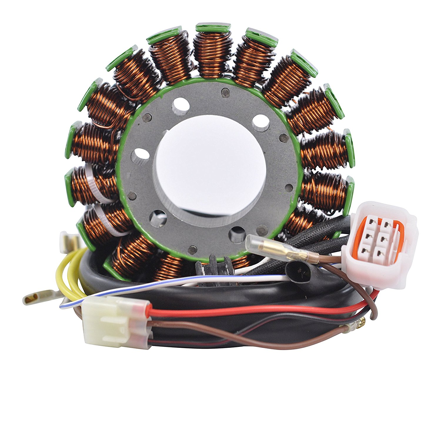 hight resolution of get quotations stator for polaris atp 500 hawkeye 400 ho ranger 400 carb scrambler 500 sportsman ho