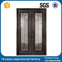 Wrought Iron Interior Door Design French Door - Buy ...