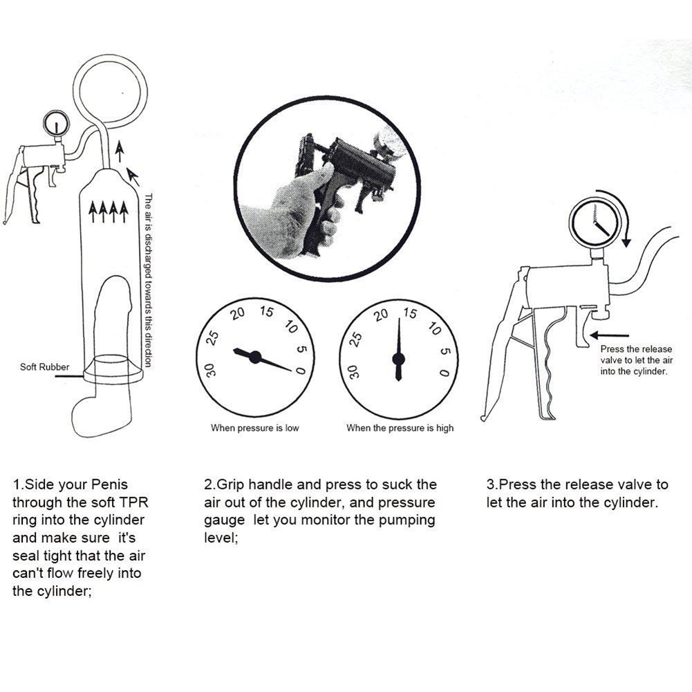 Water Penis Pump Penis Enlargement Male Penis Vacuum Pump