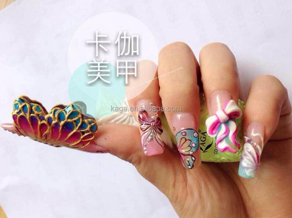 Kaga Nails Art Nail Gel 3d Sculpture Professional Uv Sets