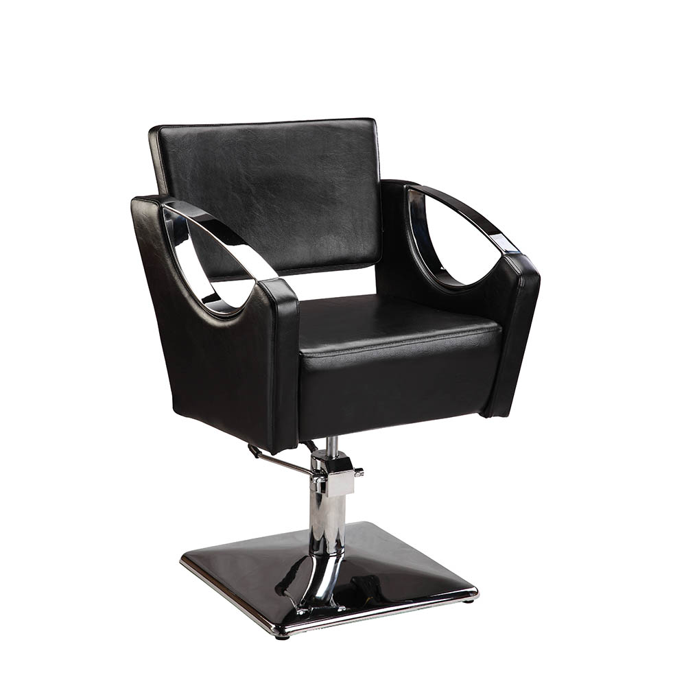 Hydraulic Styling Chair Mingyi Black Hair Beauty Salon Equipment Square Base Hydraulic Barber Styling Chair Buy Old Style Barber Chair French Style Chair Purple Salon