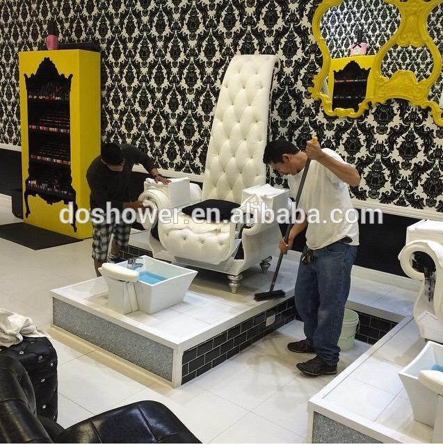 pedicure chairs used discount rocking luxury and queen style manicure chair for nail salon furniture / foot care ...