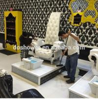 Luxury And Queen Style Manicure Pedicure Chair For Nail ...