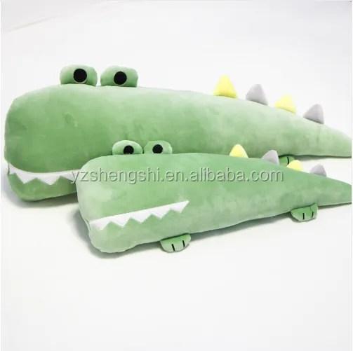 cute plush cartoon big teeth crocodile long body pillow soft stuffed plush crocodile cushion birthday christmas gift toy buy cute plush cartoon big
