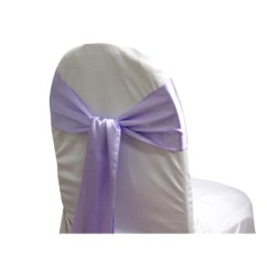 Purple Chair Sashes For Weddings Futon Cover Cheap Satin Wedding Buy
