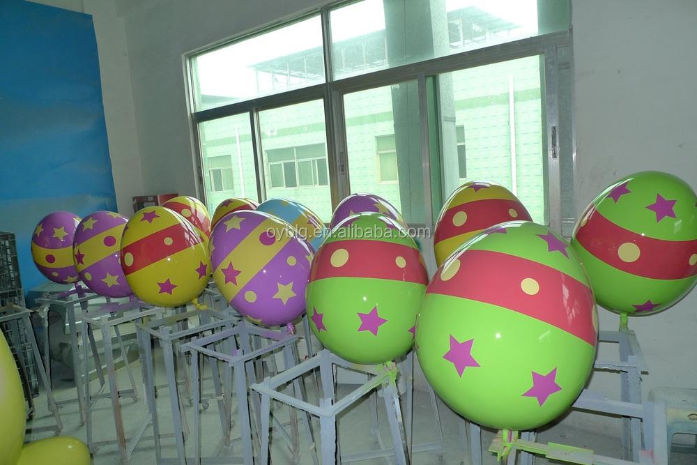 Commercial Easter Egg Fibreglass Decorations/easter Egg