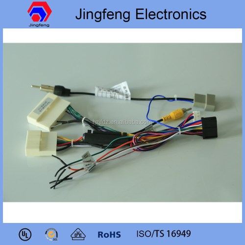 small resolution of plastic motorcycle wiring harness connector made in china for x trail