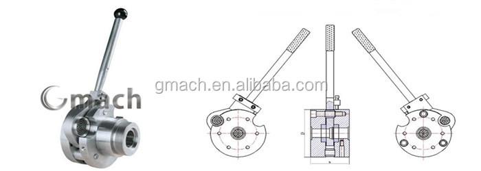 Plastic Extruder Screen Changer Manual Screen Changer