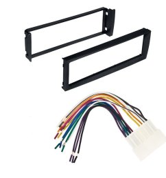 get quotations 96 98 civic honda car stereo radio dash installation mounting kit with wiring harness [ 1000 x 1000 Pixel ]