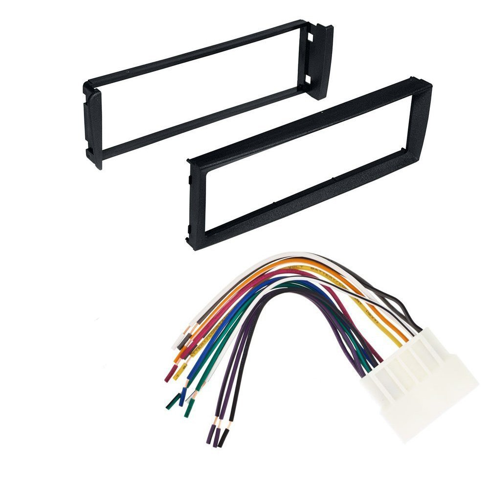 hight resolution of get quotations 96 98 civic honda car stereo radio dash installation mounting kit with wiring harness