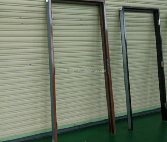 Steel Frame Hollow Metal Door Frame Buy Interior Doorgalvanized Steel Doorresidential Steel Door Product On Alibaba Com