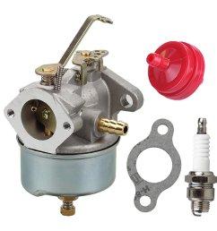 get quotations 632230 632272 carburetor with spark plug fuel filter for tecumseh 5 hp 6 cheap tecumseh engines parts diagram  [ 1000 x 1000 Pixel ]