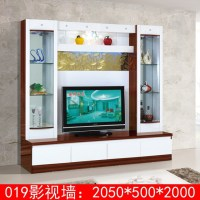 Wood Led Tv Wall Units Designs 019# Modern Tv Wall Unit ...