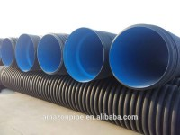 Non-pressure Underground Plastic Hdpe Pipe Sewer Pipe ...