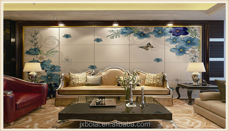 Hot Almay azulejos sala de estar sof TV cenrio arte