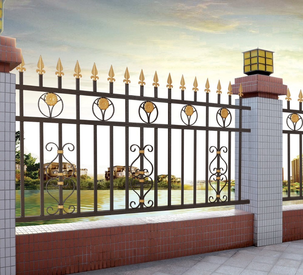 Modern Simple Aluminum Decorative Fencephilippines Gates