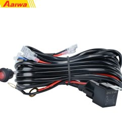 get quotations wiring harness aaiwa 12v 500w heavy duty wiring harness kit on off switch power relay [ 1000 x 1000 Pixel ]