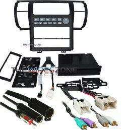 metra 99 7604b black dash kit for 03 04 infiniti g35 harness  [ 1500 x 1500 Pixel ]