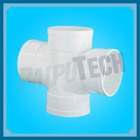 Plastic Sewage Pipe Fitting Pvc 4 Way Pipe Fitting - Buy 4 ...