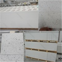 Faux Marble Solid Surface Shower Wall Panels