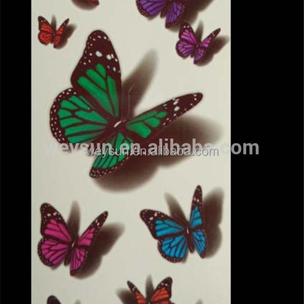 Venta Al Por Mayor Diseño Tatuajes Mariposas Compre Online Los
