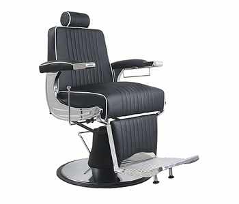 black salon chairs and white accent 2018 hot sale portable hair nice design equipment heavy duty man barber chair
