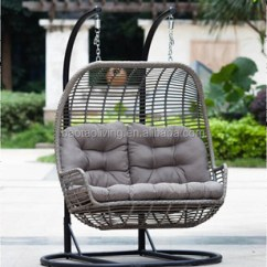 Outdoor Wicker Hammock Chair Covers For Kitchen Table Adult And Kids Rattan Swing Hanging Double Seater
