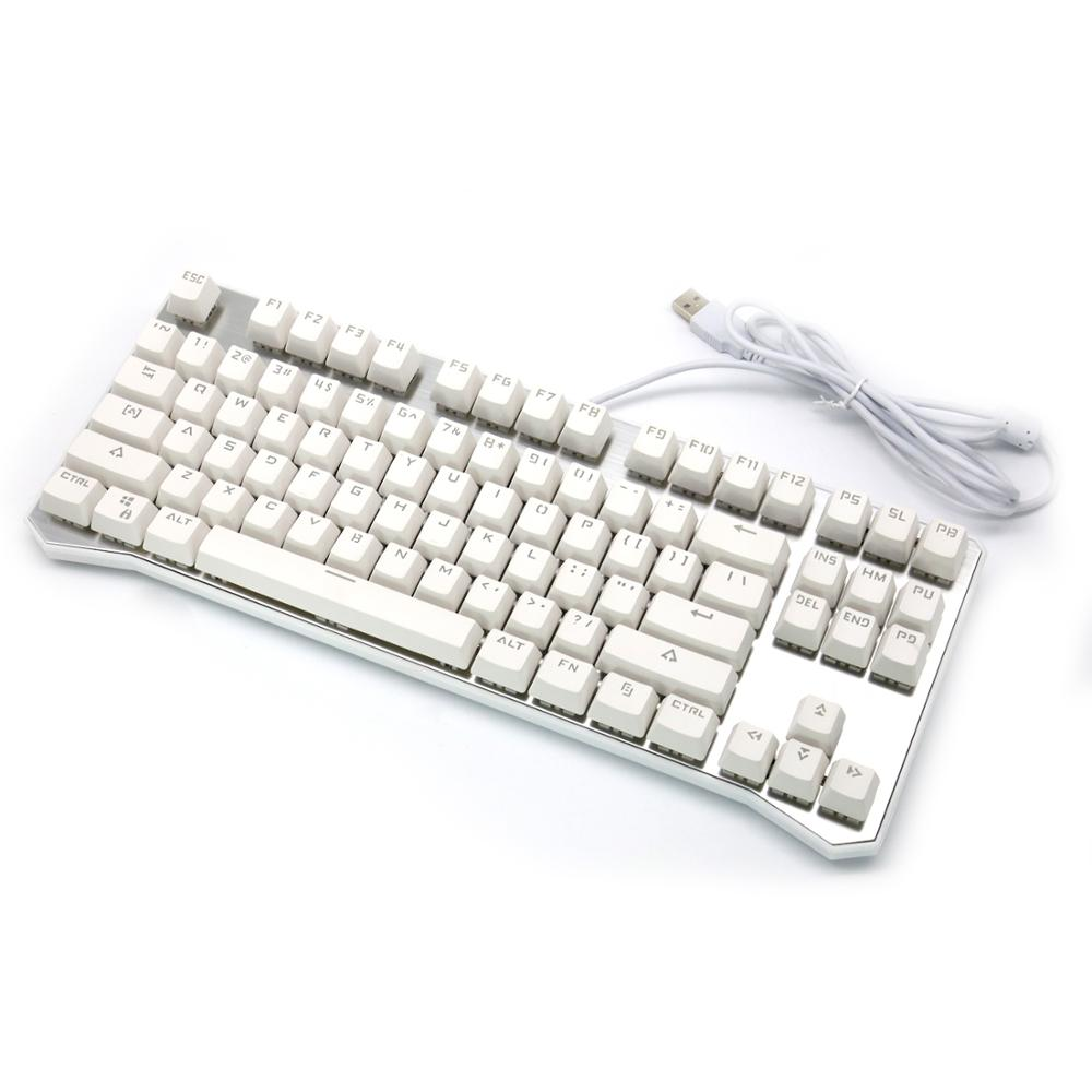 New Design Desktop Computer Multimedia 87 Keys Mechanical