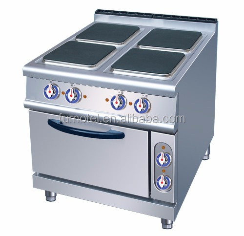 Commercial Kitchen Equipment Electric 4 Hotplate Cooker