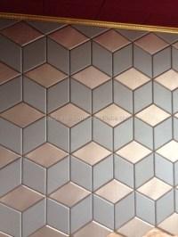 Soundproof Decorative Ceiling Tiles/3d Polyurethane ...
