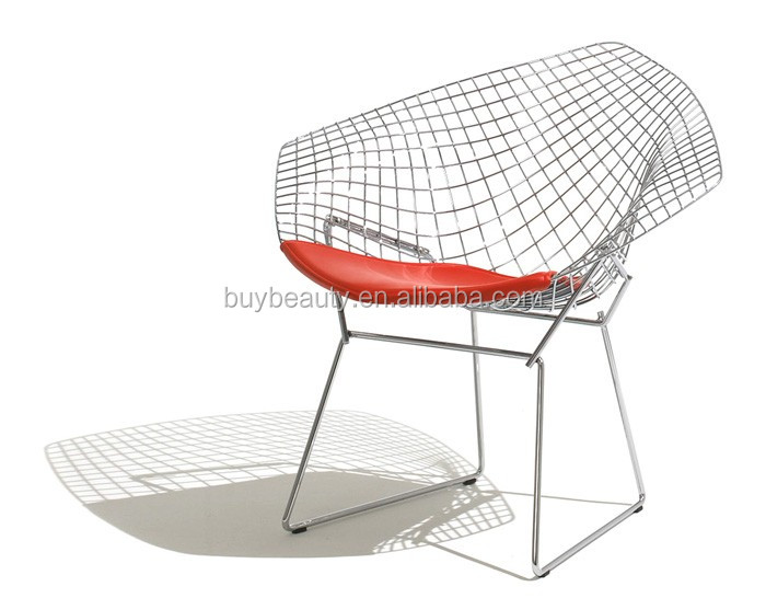 diamond chair replica hairdressing chairs canada modern metal wire buy