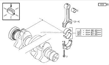 Deutz 1011 Big End Bearing 1011 2011 04270256 02928965