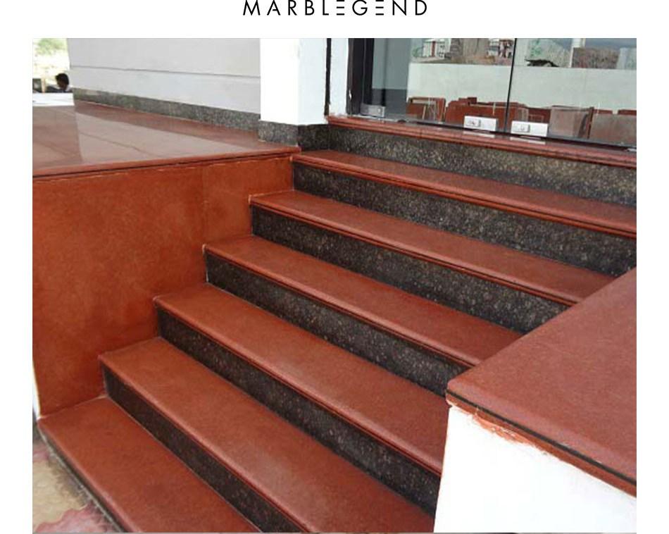 Interior Stone Steps And Risers Design Granite Stairs View Indoor | Stairs Design With Granite | Exterior | Single Moulding | Granite Skirting | Granite Ramp | Simple