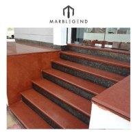 Interior Stone Steps And Risers Design Granite Stairs ...
