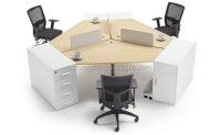 Gd-cd0829 Fashionable 120 Degree 3 Person Office ...