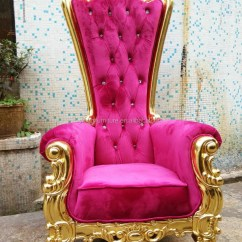 Chair Covers For Parties To Buy Computer Stand High Back Wedding King And Queen Throne Chairs - Chairs,king ...