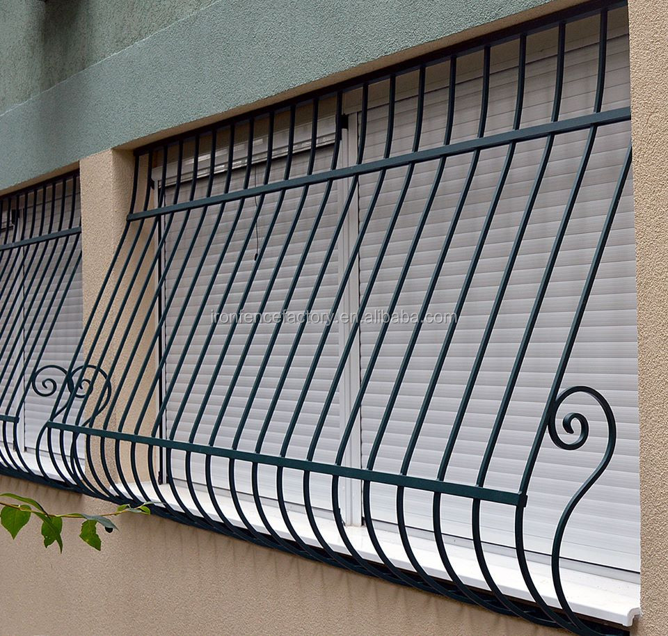2016 High Quality Iron Grill Designs For Windows/simple