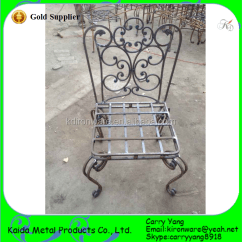 Iron Chair Price Slip Covers Canada Factory Decorative Garden Wrought Wholesale View