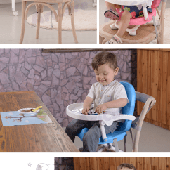 Restaurant High Chair With Tray La Z Boy Martin Big And Tall Executive Office Home Pink Booster Infant Baby Feeding Seat
