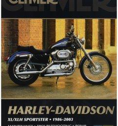 get quotations clymer harley davidson xl sportster 04 06 manual m427  [ 1948 x 2560 Pixel ]
