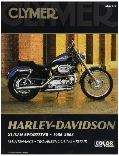 small resolution of get quotations clymer harley davidson xl sportster 04 06 manual m427