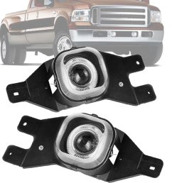 autosaver88 factory style fog lights for 11 15 ford f 250 f  [ 1100 x 1100 Pixel ]