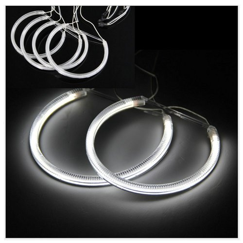 small resolution of get quotations dlll 4 x ccfl angel eyes light headlight halo ring light lamp non projector model