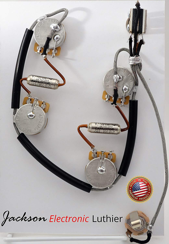 hight resolution of es 335 wiring harness sprague vitamin q 022 uf upgrade short shaft 525k