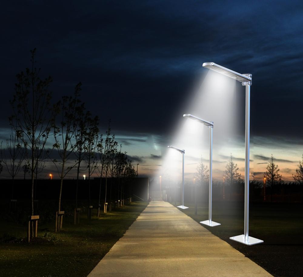 20w Patent Design Modern Led Light Solar Garden Street