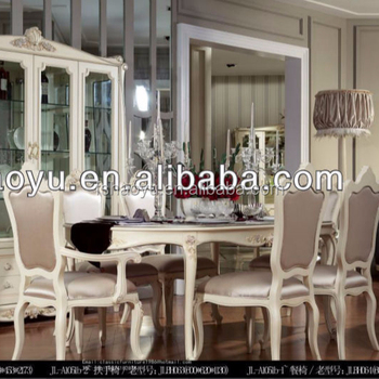 restaurant tables and chairs wholesale swing chair jumia luxury wooden table french home dining set