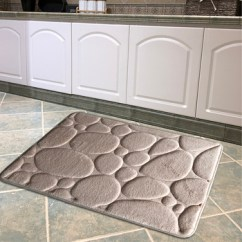 Memory Foam Kitchen Mats Collapsible Table Custom Floor Mat With Beveled Edge Buy Anti Slip Customized